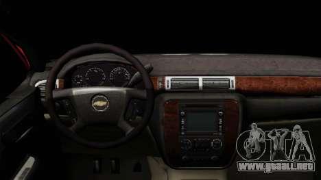 Chevrolet Silverado Tuning para la visión correcta GTA San Andreas