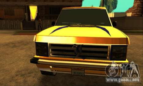 Luni Huntley para GTA San Andreas left