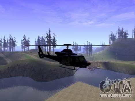 GTA 5 Valkyrie para GTA San Andreas left