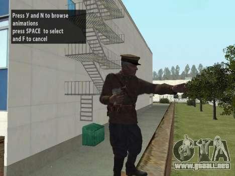 El Comisionado De Markov para GTA San Andreas tercera pantalla