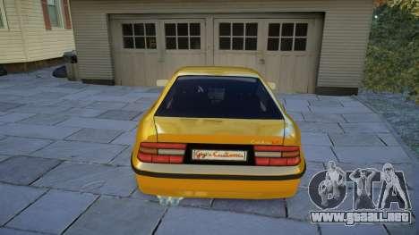 Opel Calibra v2 para GTA 4 visión correcta