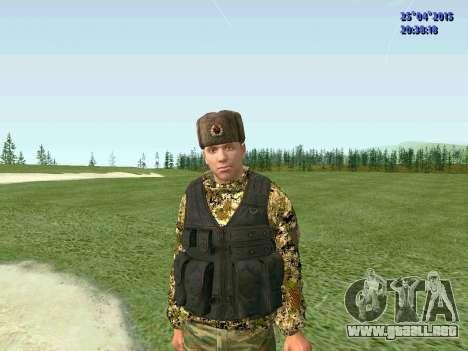Combatiente de la RPA para GTA San Andreas
