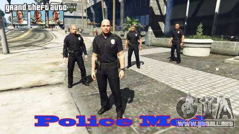 Police mod para GTA 5