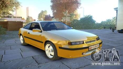 Opel Calibra v2 para GTA 4 vista interior