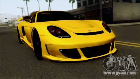 Gemballa Mirage GT v2 Windows Down para GTA San Andreas