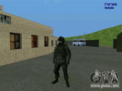 SWAT para GTA San Andreas tercera pantalla