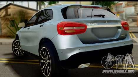 Mercedes-Benz GLA220 2014 para GTA San Andreas left