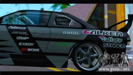 Nissan Silvia S14 Zenki Falken para la visión correcta GTA San Andreas