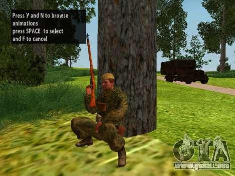 Los soldados del ejército rojo para GTA San Andreas séptima pantalla