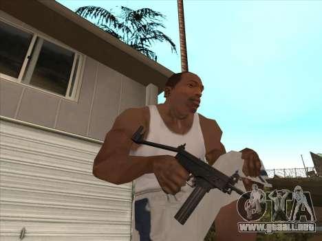 Ruso metralletas para GTA San Andreas séptima pantalla