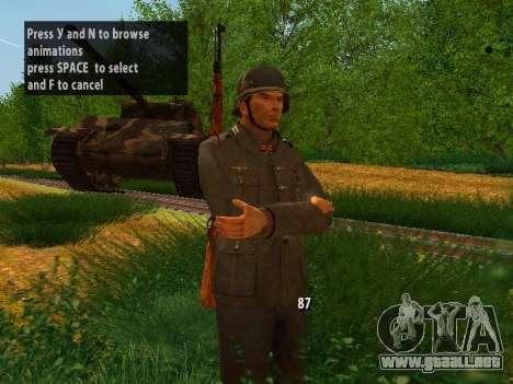Spanish soldiers para GTA San Andreas segunda pantalla