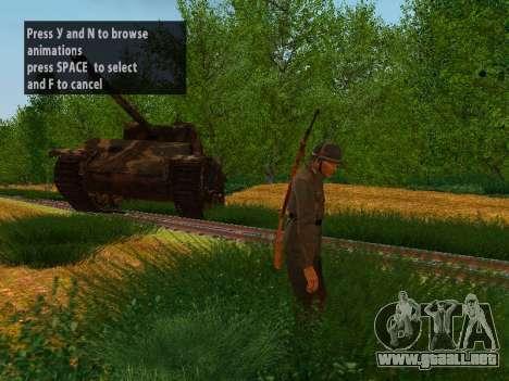 Spanish soldiers para GTA San Andreas sucesivamente de pantalla