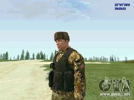 Combatiente de la RPA para GTA San Andreas segunda pantalla