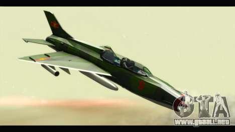 Mikoyan-Gurevich MIG-21UM Vietnam Air Force v2.0 para GTA San Andreas