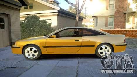 Opel Calibra v2 para GTA 4 left