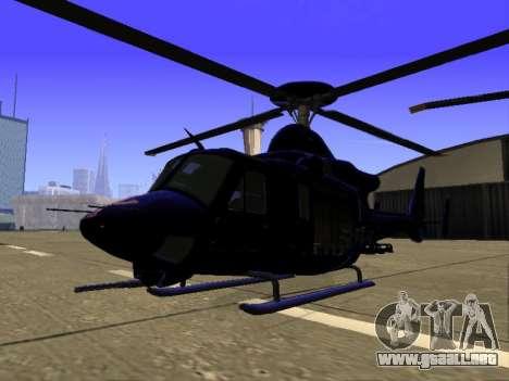 GTA 5 Valkyrie para la vista superior GTA San Andreas