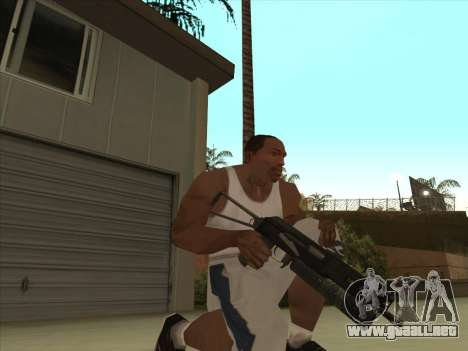 Ruso metralletas para GTA San Andreas tercera pantalla