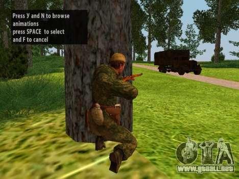 Los soldados del ejército rojo para GTA San Andreas tercera pantalla