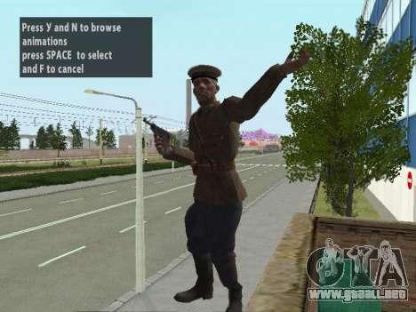 El Comisionado De Markov para GTA San Andreas