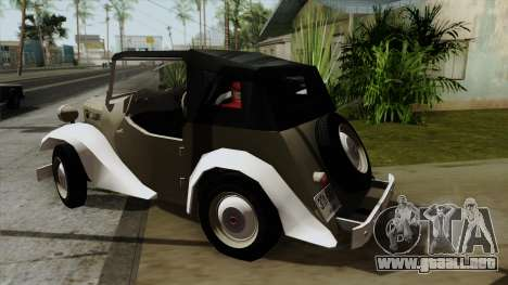 Datsun Sports DC-3 para GTA San Andreas left
