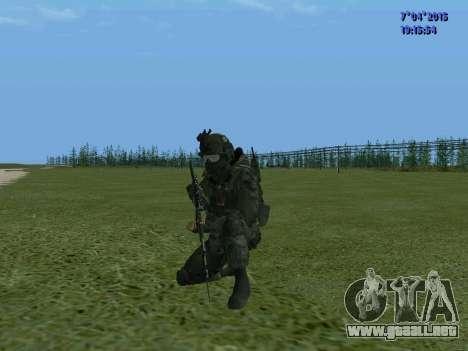 SWAT para GTA San Andreas sucesivamente de pantalla