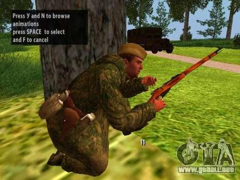 Los soldados del ejército rojo para GTA San Andreas sexta pantalla