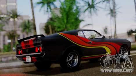 Ford Mustang Mach 1 429 Cobra Jet 1971 HQLM para el motor de GTA San Andreas