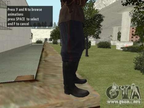El Comisionado De Markov para GTA San Andreas octavo de pantalla