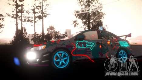 SPES ENB para GTA San Andreas segunda pantalla