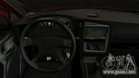 Opel Astra G Custom 1999 para GTA San Andreas vista posterior izquierda