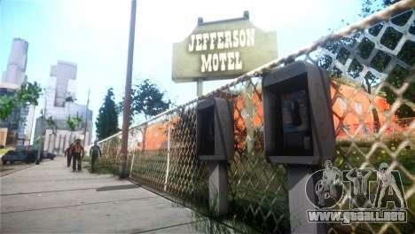 SPES ENB para GTA San Andreas tercera pantalla