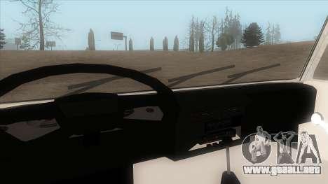 Tatra 815 para GTA San Andreas vista hacia atrás
