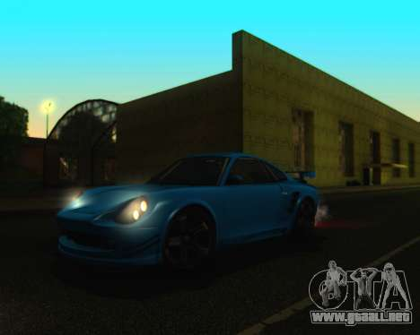 ENBSeries by IE585 V2.1 para GTA San Andreas tercera pantalla
