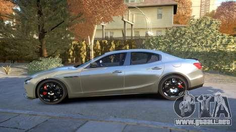 Maserati Ghibli 2014 v1.0 para GTA 4 left