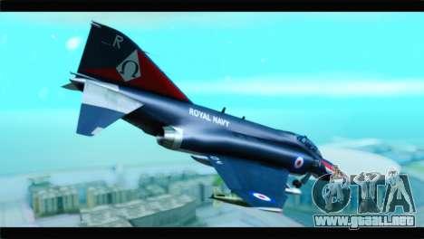 McDonnell Douglas F-4E RAF para GTA San Andreas left