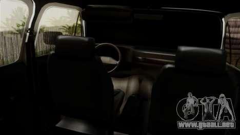 Chevrolet Suburban Dually para GTA San Andreas vista posterior izquierda