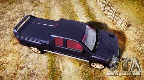Chevrolet Silverado 1500 LT Extended Cab wheels2 para GTA 4 visión correcta