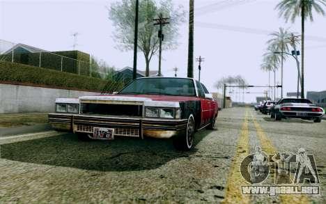 DirectX Test 1 - ReMastered para GTA San Andreas sexta pantalla