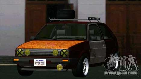 Volkswagen Golf II Rat Style para GTA San Andreas