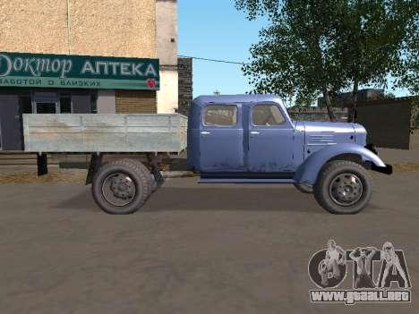 ZIL 164 Lado para GTA San Andreas left