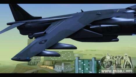 AV-8B Harrier Estovakian Air Force para la visión correcta GTA San Andreas