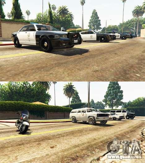 GTA 5 Police mod tercera captura de pantalla