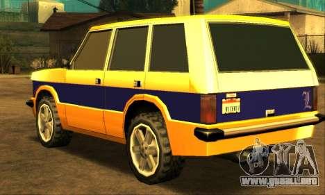 Luni Huntley para visión interna GTA San Andreas