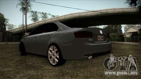 Volkswagen Jetta GLI Edition 30 2014 para GTA San Andreas left