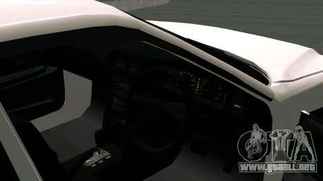 Toyota Chaser para la vista superior GTA San Andreas