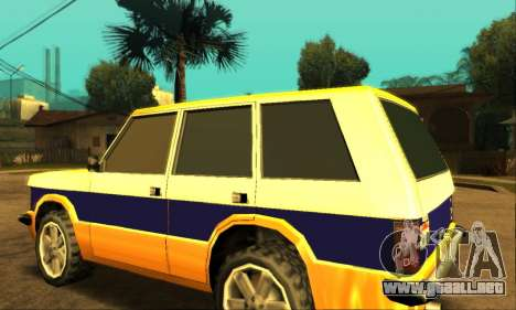 Luni Huntley para la vista superior GTA San Andreas
