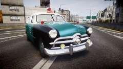 Ford Custom Deluxe Fordor 1949 New York Police