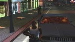 Sangre en las Ventanas de los coches para GTA San Andreas
