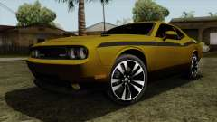 Dodge Challenger Yellow Jacket para GTA San Andreas