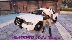 La policía simulador de v0.1a Demo para GTA 5